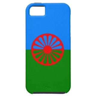 Bandera oficial del gitano del Romany iPhone 5 Case-Mate Carcasas