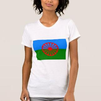 Bandera oficial del gitano del Romany Camisetas