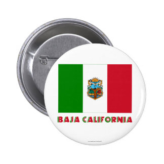 Bandera oficiosa de Baja California Pin