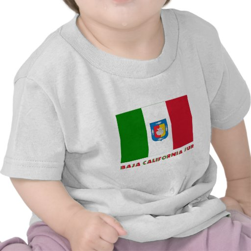 Bandera oficiosa de Baja California Sur Camisetas