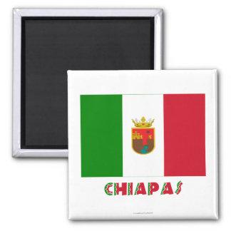 Bandera oficiosa de Chiapas Iman