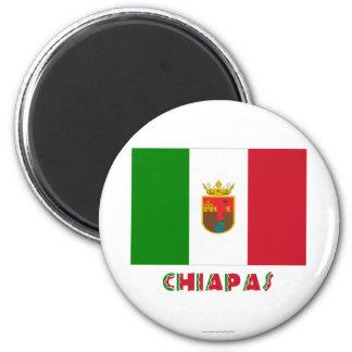 Bandera oficiosa de Chiapas Imán De Frigorifico