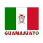 Bandera oficiosa de Guanajuato Postal