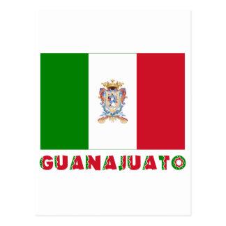 Bandera oficiosa de Guanajuato Tarjetas Postales