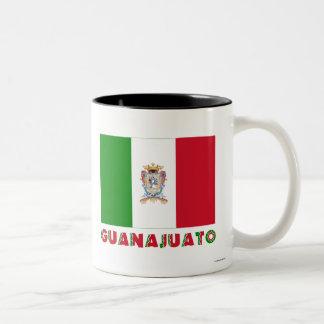 Bandera oficiosa de Guanajuato Tazas