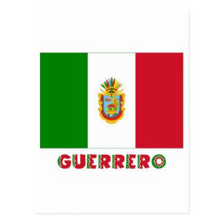 Bandera oficiosa de Guerrero Postales