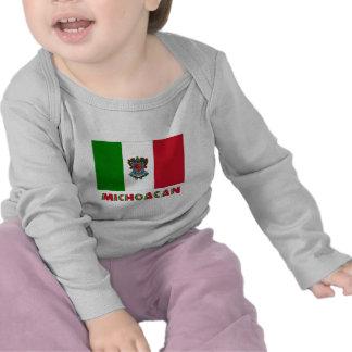 Bandera oficiosa de Michoacán Camiseta