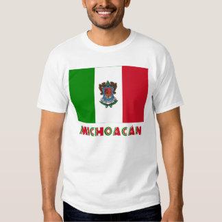 Bandera oficiosa de Michoacán Playera