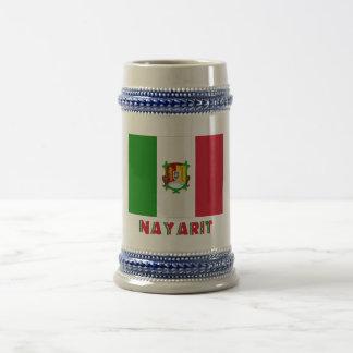 Bandera oficiosa de Nayarit Jarra De Cerveza