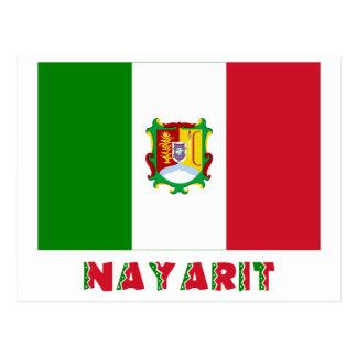 Bandera oficiosa de Nayarit Postales