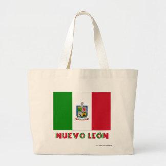 Bandera oficiosa de Nuevo León Bolsas De Mano