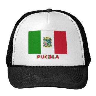 Bandera oficiosa de Puebla Gorro De Camionero
