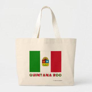 Bandera oficiosa de Quintana Roo Bolsa De Mano