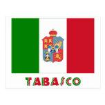 Bandera oficiosa de Tabasco Tarjetas Postales
