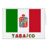 Bandera oficiosa de Tabasco Tarjetón