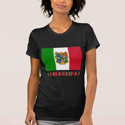 Bandera oficiosa de Tamaulipas Camisetas