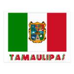 Bandera oficiosa de Tamaulipas Postales