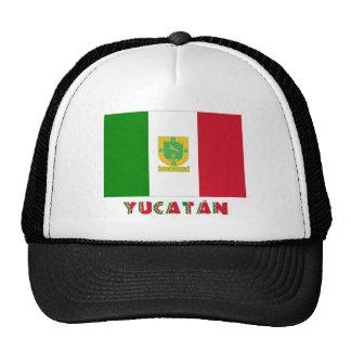 Bandera oficiosa de Yucatán Gorros Bordados