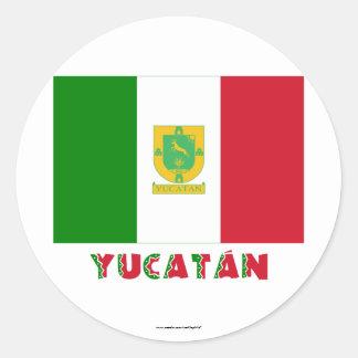 Bandera oficiosa de Yucatán Pegatinas