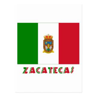 Bandera oficiosa de Zacatecas Postal