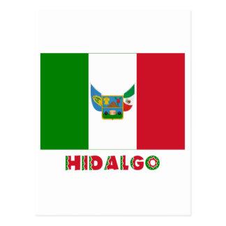 Bandera oficiosa del Hidalgo Tarjetas Postales