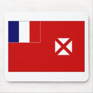 Bandera oficiosa local de Wallis Futuna Alfombrillas De Ratones
