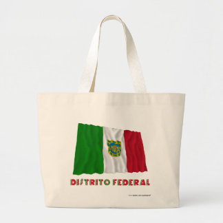 Bandera oficiosa que agita federal de Distrito Bolsas Lienzo