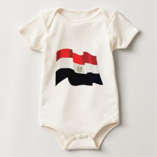 Bandera ondulada de Egipto - Egipto está libre Mameluco