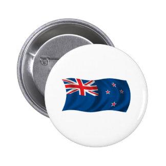 Bandera ondulada de Nueva Zelanda Pins