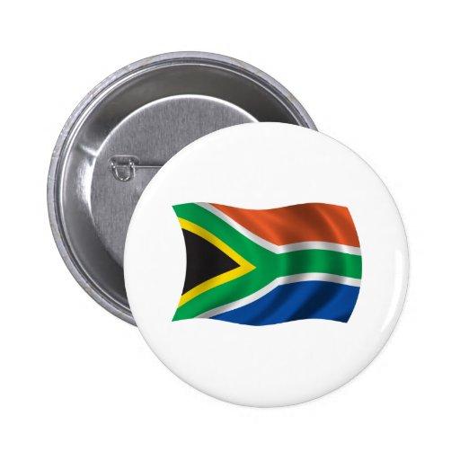 Bandera ondulada de Suráfrica Pin