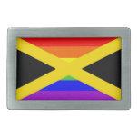 bandera orgullosa gay del arco iris del país de Ja Hebillas Cinturón