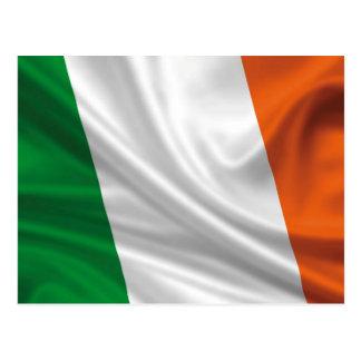Bandera orgullosa y patriótica de Irlanda Postales