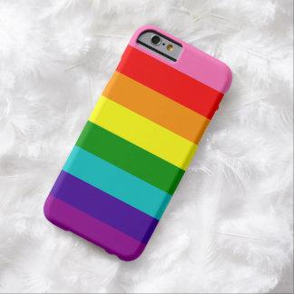 Bandera original del arco iris del orgullo gay de funda barely there iPhone 6
