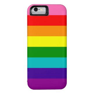 Bandera original del arco iris del orgullo gay de funda iPhone 6
