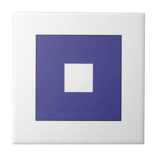 Bandera P del ICS Azulejo Cuadrado Pequeño