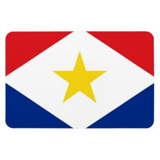 bandera Países Bajos de la isla del saba país-regi Imanes De Vinilo