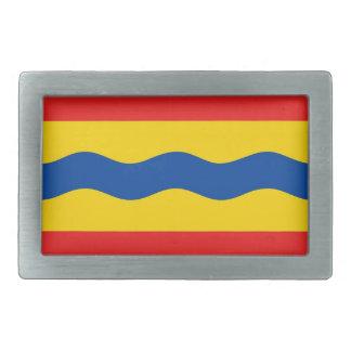 Bandera Países Bajos de Overijssel país-región Hebilla Cinturón Rectangular