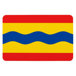 Bandera Países Bajos de Overijssel país-región Imán De Vinilo