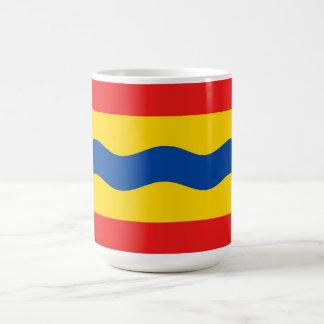 Bandera Países Bajos de Overijssel país-región Taza