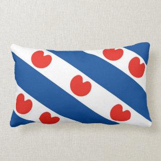 Bandera Países Bajos del frisian de Frisia Cojín