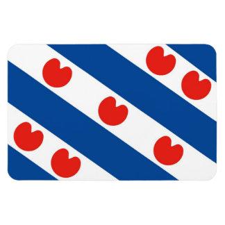 Bandera Países Bajos del frisian de Frisia país-re Iman Rectangular