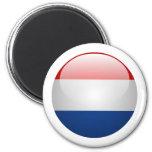 Bandera Países Bajos Imán De Nevera