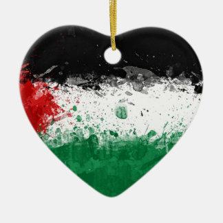 bandera palestina adorno