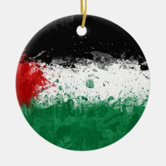 bandera palestina ornamentos de reyes