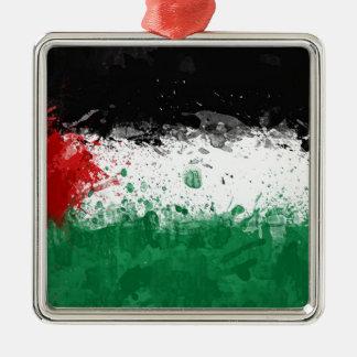 bandera palestina adornos de navidad