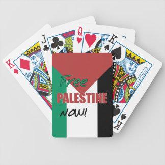 Bandera palestina libre de Palestina ahora Baraja