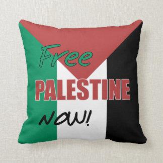 Bandera palestina libre de Palestina ahora Cojín