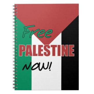 Bandera palestina libre de Palestina ahora Notebook