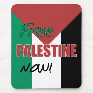 Bandera palestina libre de Palestina ahora Tapetes De Raton