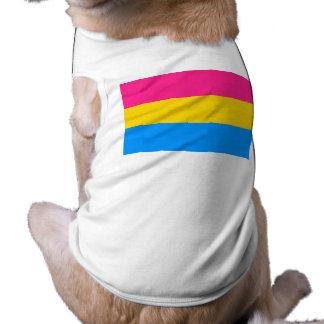 Bandera Pansexual del orgullo Playera Sin Mangas Para Perro